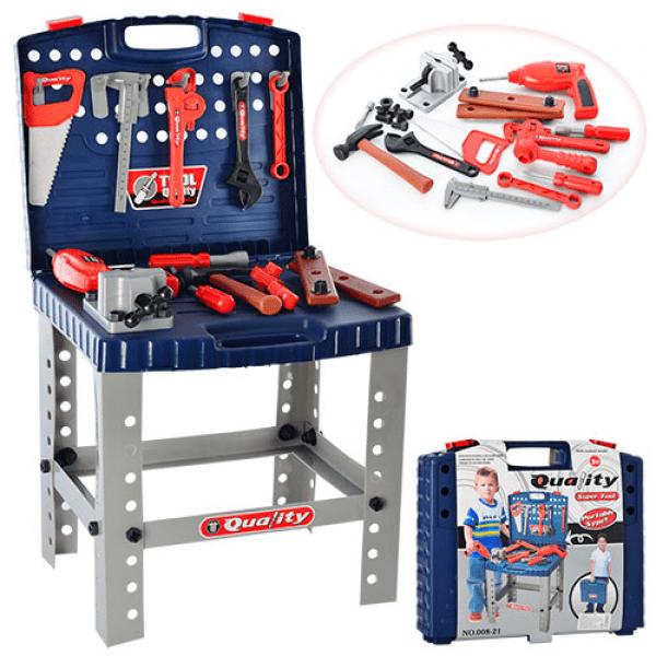 Набор инструментов в чемодане 008-21
