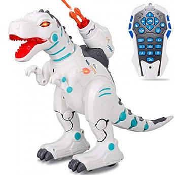 Интерактивный динозавр Intelligent Robot Dinosaur Remote Control