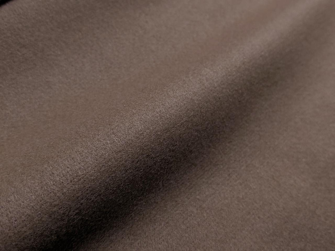 Кашемир трикотажный, светло-коричневый