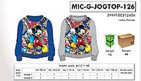 Кофты  для мальчиков оптом, 98-128, Disney, арт. Mic-g-jogtop-126