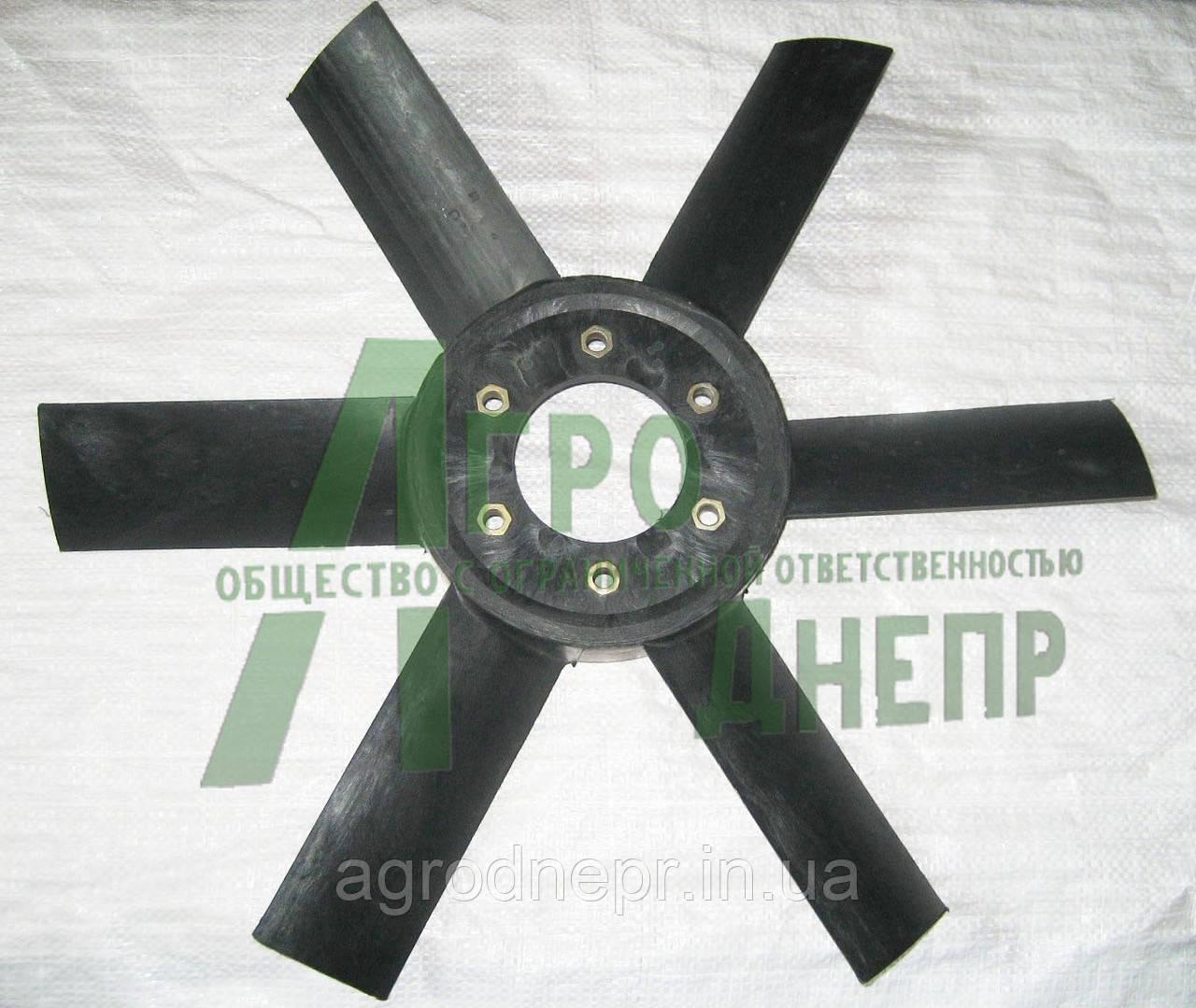Крильчатка вентилятора ЮМЗ (пластик) Д65-1308050П