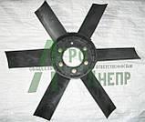 Крильчатка вентилятора ЮМЗ (пластик) Д65-1308050П , фото 2