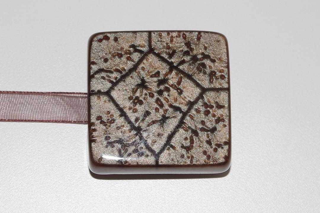 Декоративный магнит подхват для штор и тюлей К48