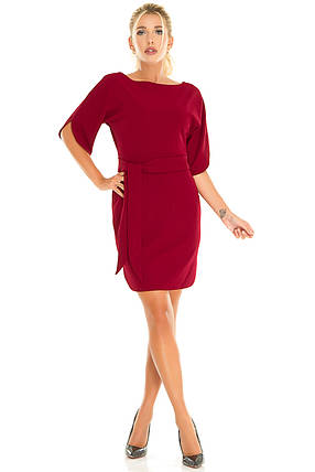 Платье 616 бордо, фото 2
