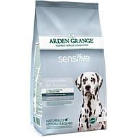 Arden Grange Adult Sensitive Корм для собак с чувствительным пищеварение