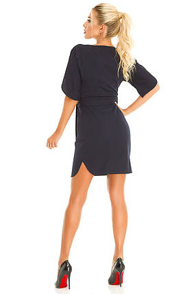 Платье 616 темно-синее, фото 2