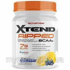 Scivation (Xtend)	BCAA	Xtend Ripped BCAAs	501 g