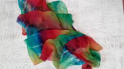 Краски для росписи тканей и шелка и сопутствующие материалы