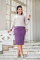 Костюм женский с юбкой в расцветках 50946, фото 1