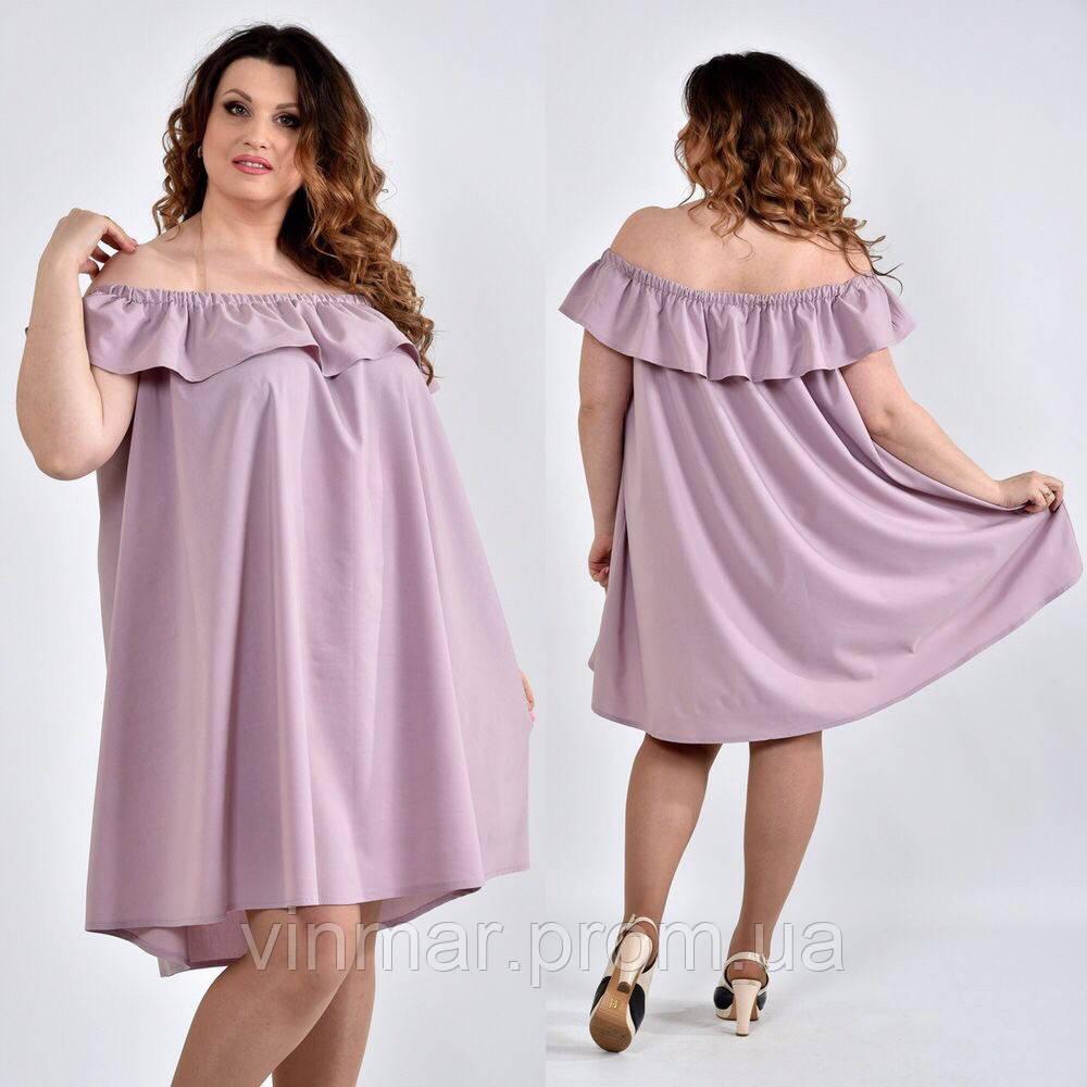 Женское платье большие размеры