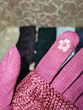Сенсорны вязание шерсти трикотаж женские перчатки с сенсором для работы на телефоне плоншете оптом, фото 4