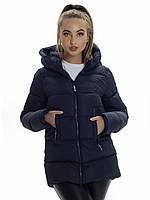 Куртка- пуховик женский Irvik ZP3180 синий
