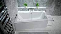Ванна BESCO INFINITY 150x90 ліва з панелькою та ніжками