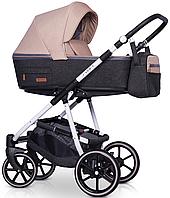 Детская универсальная коляска 2 в 1 Riko Swift Natural 04 Latte