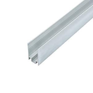 Профиль для светодиодной ленты NEON накладной ЛП16 8х16 мм анодированный