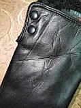 Кожа натуральная с Арктический бархат женские перчатки только оптом, фото 2