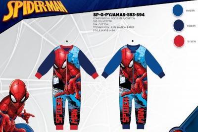 Пижама флисовая для мальчиков оптом, Дисней, размеры 98-128 арт. Sp-g-pijamas-593
