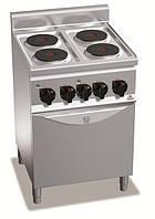 Плита электрическая с духовкой E6P4+FE1 Bertos (Италия)