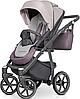 Детская универсальная коляска 2 в 1 Riko Marla 04 Dirty Pink, фото 3