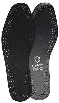 Летние стельки «mddri Comfort черная», р-р 38