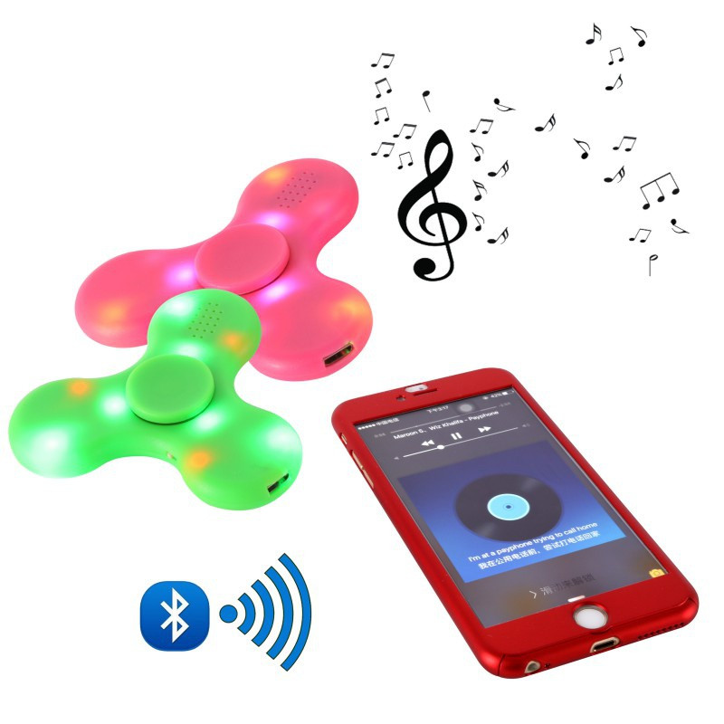 Spinner LED Bluetooth Speaker (Спиннер с Блютус Колонкой)