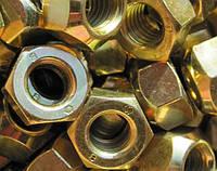 Гайка М24 Din 934, ГОСТ 5915-70 класс прочности 10.0
