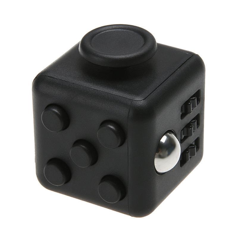 Fidget cube (кубик антистресс) - Черный