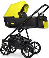 Детская универсальная коляска 2 в 1 Riko Swift Neon 23 Crazy Yellow