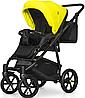 Детская универсальная коляска 2 в 1 Riko Swift Neon 23 Crazy Yellow, фото 5