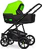 Детская универсальная коляска 2 в 1 Riko Swift Neon 21 Ufo Green, фото 4