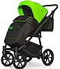 Детская универсальная коляска 2 в 1 Riko Swift Neon 21 Ufo Green, фото 6