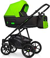 Детская универсальная коляска 2 в 1 Riko Swift Neon 21 Ufo Green