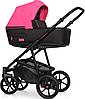 Детская универсальная коляска 2 в 1 Riko Swift Neon 22 Electric Pink, фото 2