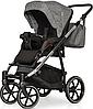 Дитяча універсальна коляска 2 в 1 Riko Swift Premium 12 Titanium, фото 5