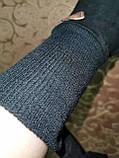 Замш на манжете с сенсором качество женские перчатки для работы на телефоне плоншете стильные только опт, фото 6