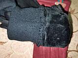 Замш на манжете с сенсором качество женские перчатки для работы на телефоне плоншете стильные только опт, фото 5