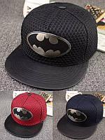 Кепка снепбек Бэтмен с прямым козырьком, Унисекс, фото 1