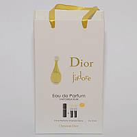 Мини парфюмерия женская Dior J'Adore Christian Dior в подарочной упаковке 3х15 ml  DIZ