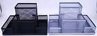 Подставка органайзер 9125, металл сетка 4отдела