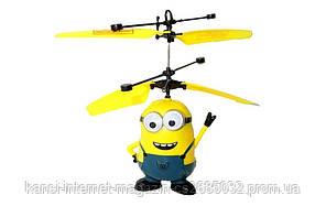 Игрушка летающий миньон вертолёт