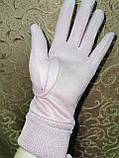 Замш на манжете с Арктический бархат женские перчатки стильные только опт, фото 4