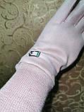 Замш на манжете с Арктический бархат женские перчатки стильные только опт, фото 3