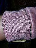 Замш на манжете с Арктический бархат женские перчатки стильные только опт, фото 5