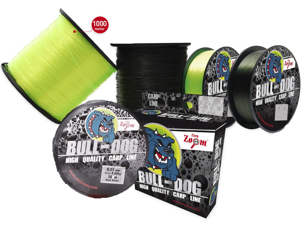 Леска Carp Zoom Bull-Dog 1000m CZ3490
