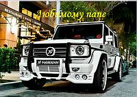 Вафельная картинка авто -мото джип