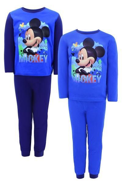 Пижама для мальчиков оптом, Дисней, размеры 92-116 см,  арт. Mic-g-pijamas-564