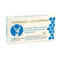 Добродея для мужчин суппозитории 7 шт Сашера-мед