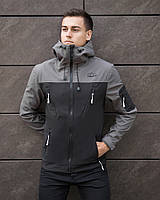 "Куртка демісезонна Pobedov Jacket ""Korol' Lev"" Grey-Black"