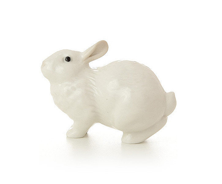 Скульптура Кролик ушастик белый И.Ф.З. 68839