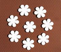 Чипборд Цветочки 7 шт. 2,8 см  114-7